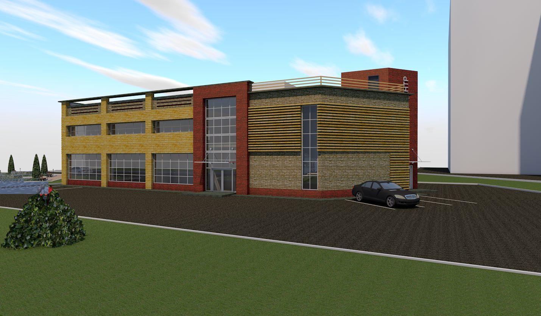 Проект строительства здания на ул. Маршала Жукова