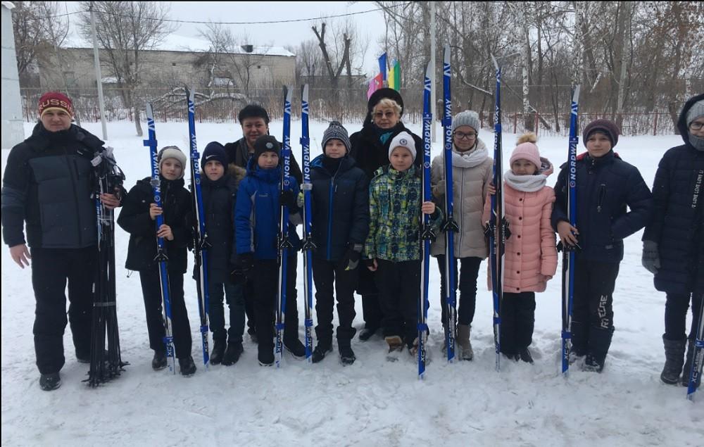 Лыжи Варламово