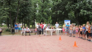 """Акция """"День двора"""" г.Сызрань, Комсомольский парк"""