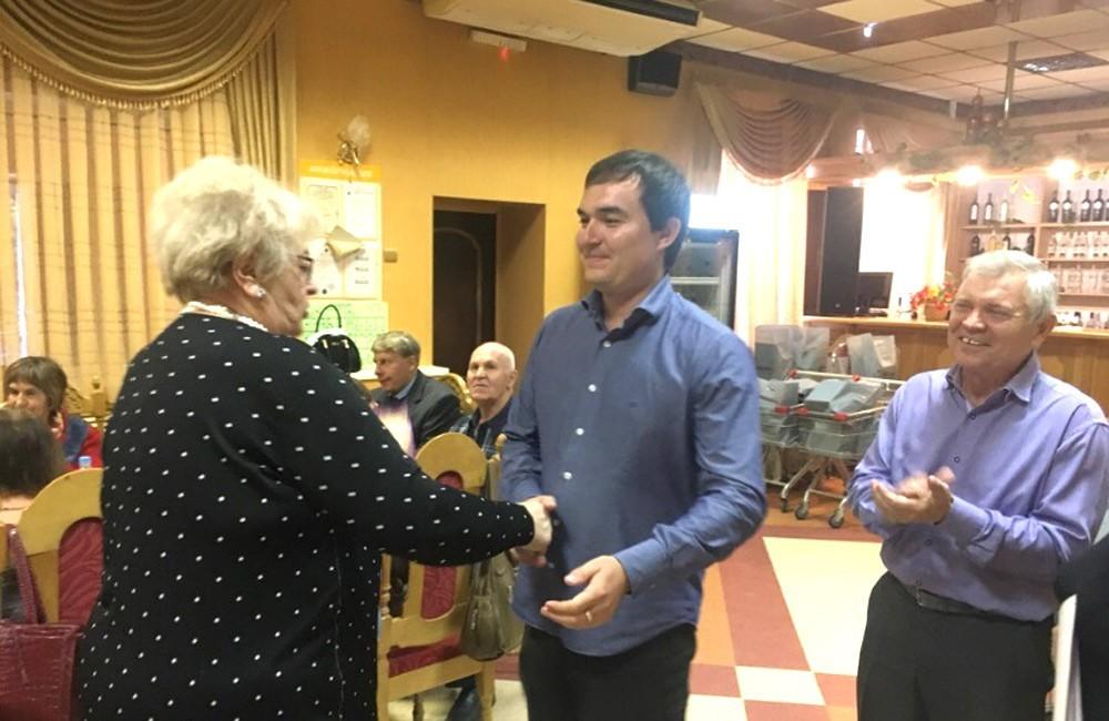 Депутат Андрей Неронов в ОС 13