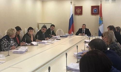 Заседании комитета по региональной составляющей нацпроекта «Образование»