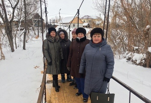 Евгений Серпер помог восстановить пешеходный мост в Сызрани
