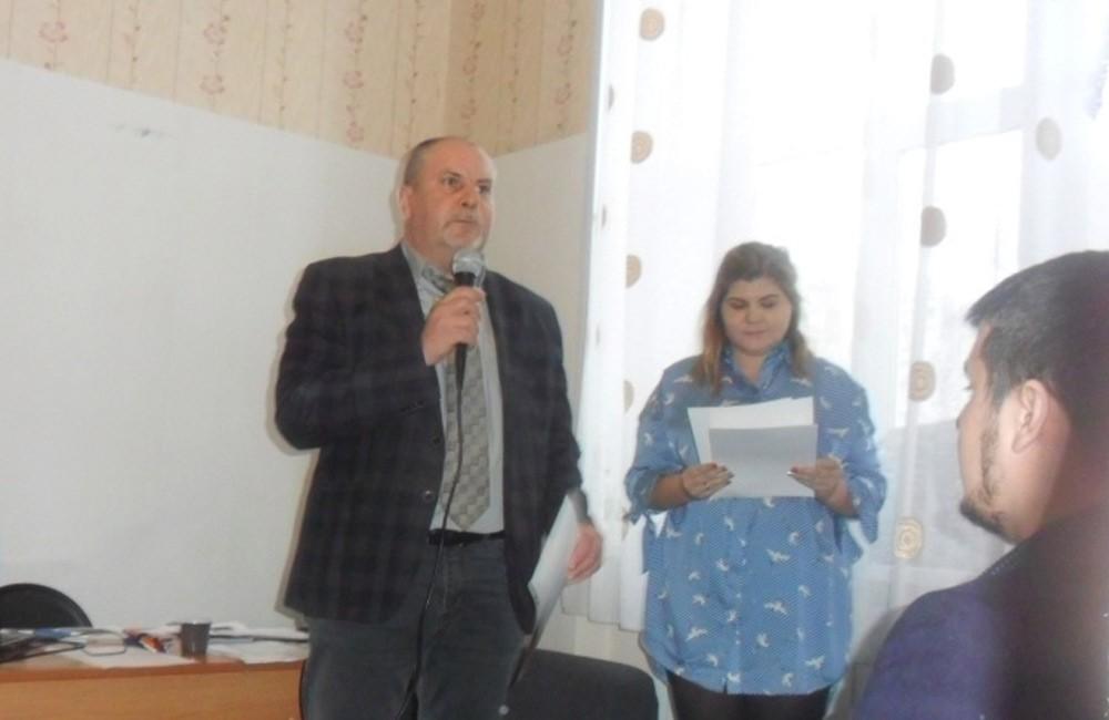 Руководитель – Валерий Павловичич Сетежев и специалисты МКУ «РЦПРМС»