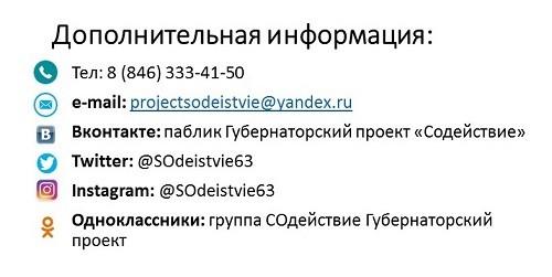 Дополнительная информация
