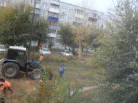 Уборка территории ЖК «Городок»