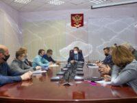 Николай Лядин провел встречу с руководителями управляющих компаний