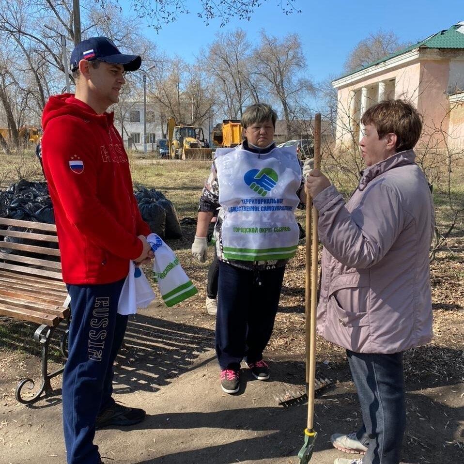"""Экологический марафон """"Зелёная весна"""" 2021 в Сызрани"""